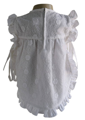 White Lace Baby Dress_Faye New born dress
