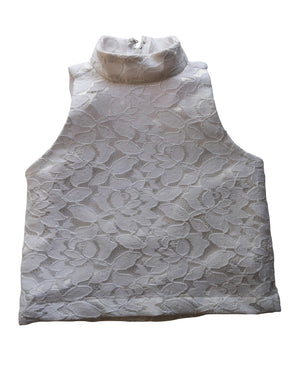 White Lace Top for kids