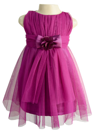 Faye Wine Party Dress for Girls