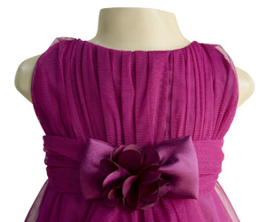 Faye Wine Party Dress for baby girls