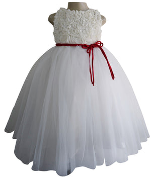 Kids Party Gown_Faye Ivory Ceremonial Gown