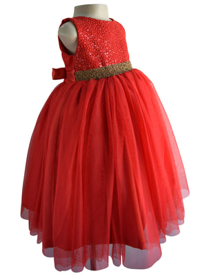 Kids Gown at faye.in_Faye Red Sequin Gown