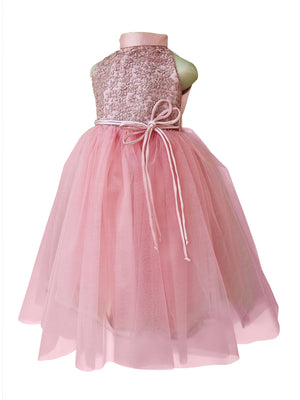Gown for Girls_Faye Blush Pink Embroidered Gown