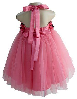Faye Onion Pink Tutu Dress for baby girls