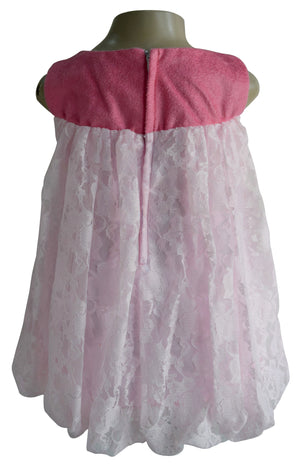 Faye Pink Balloon Dress for girls