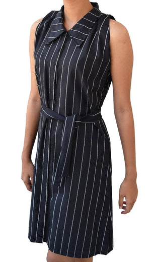 Striped Shirt Dress for Teen Girls