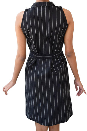 Striped Shirt Party Dress for Teen Girls