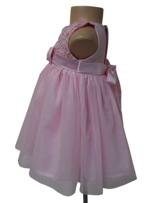 Buy baby dress online_ Pink Ceremonial Princess Dress