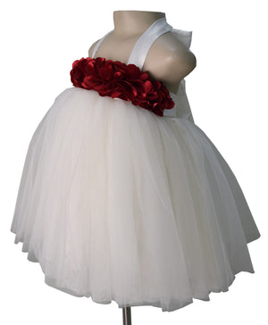 Kids Birthday Dress_Faye Ivory Tutu Dress