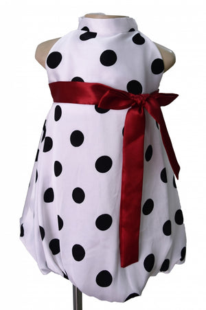 Baby Dress_Faye Dotted in Black Dress