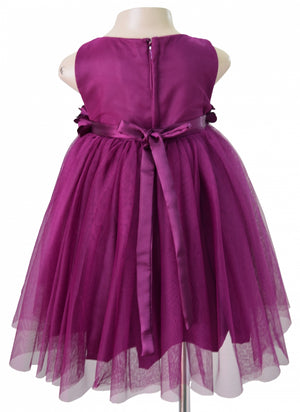 Kids Party Dresses_Faye Wine Ceremonial Dress