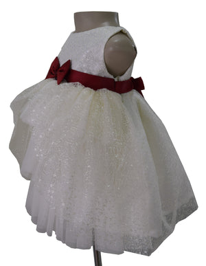 Kids Dresses_Faye Ivory Embroidered Dress