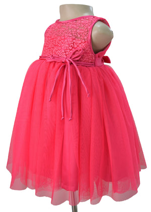 Kids wear_Faye Fuchsia Ceremonial Dress