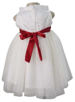 Designer Dress for Girls_Faye Ivory Ballerina Dress