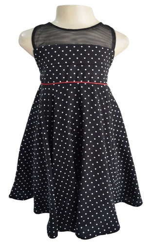 Kids Dress_Faye Polka Dot Dress