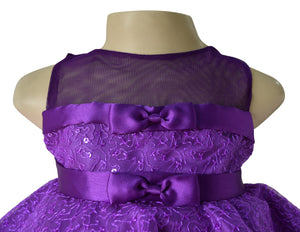 Birthday Dress_ Purple Peplum Dress