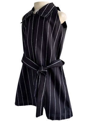 Faye Striped Shirt Dress