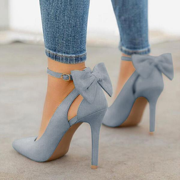 Twinklemoda Women Cute Bowknot High Heels