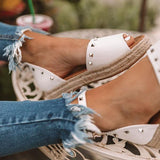 Twinklemoda Trendy The Hartley Espadrille Sandals