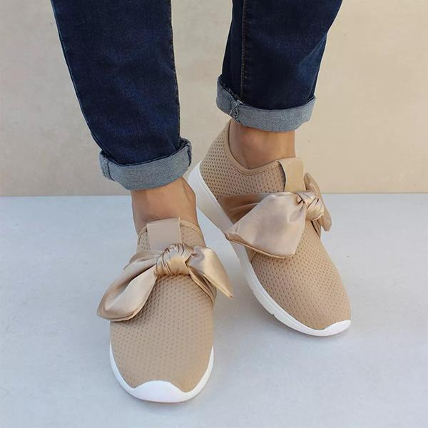 Twinklemoda Casual Comfy Bow Sneakers