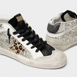 Twinklemoda Daily Shiny Lace Up Sneakers