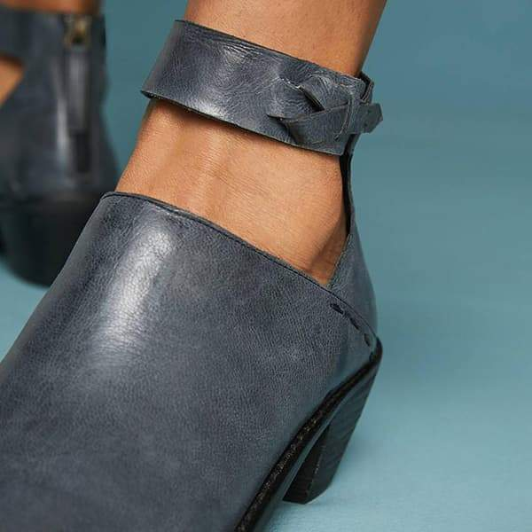 Twinklemoda Daily Zipper Chunky Boots