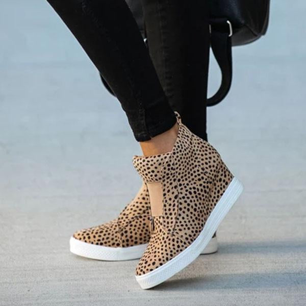 Twinklemoda Extra Mile Wedge Sneakers