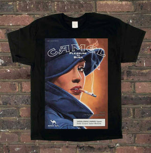Camel Pleasure To Burn Tee
