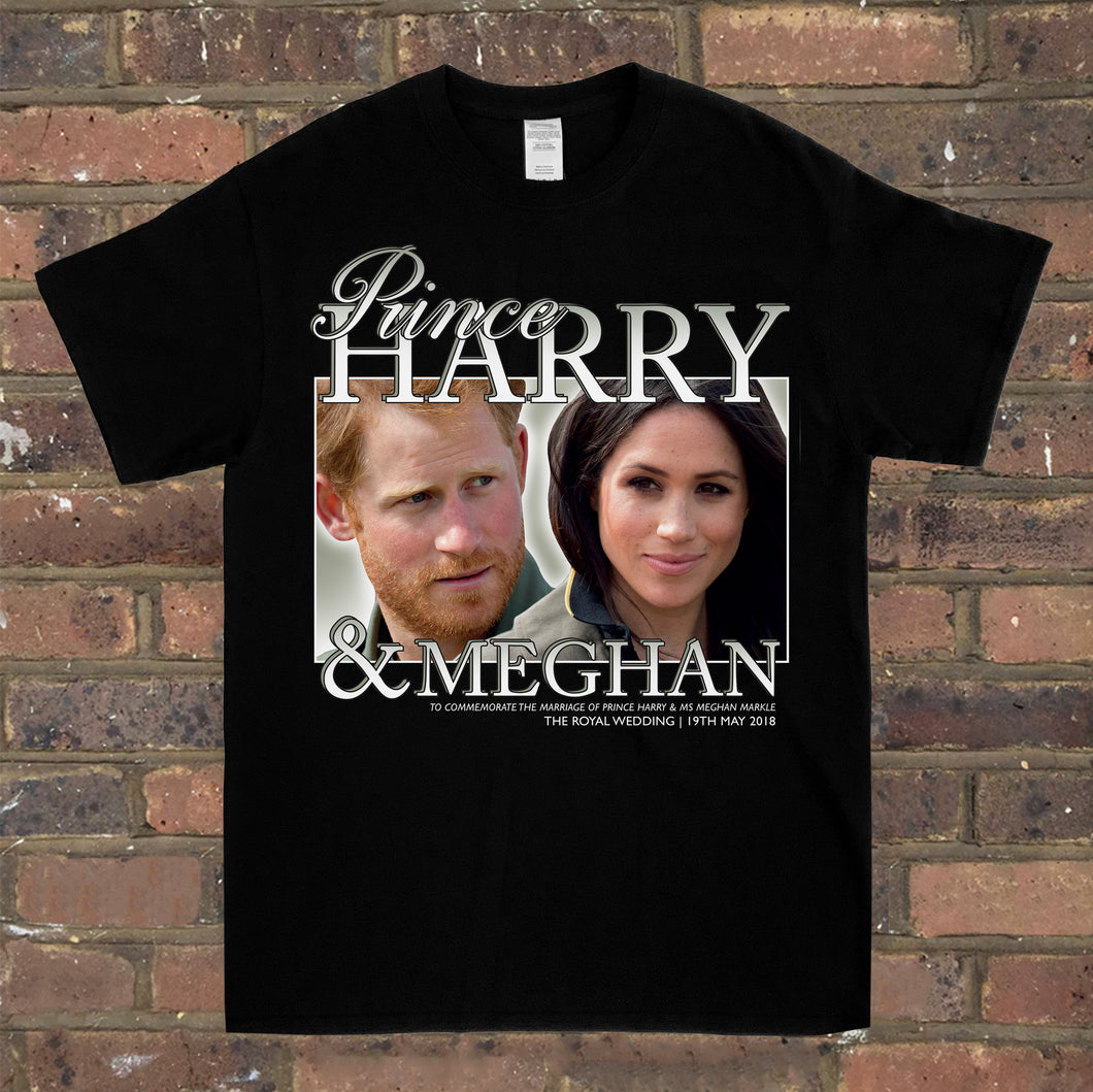 Harry & Meghan Tee