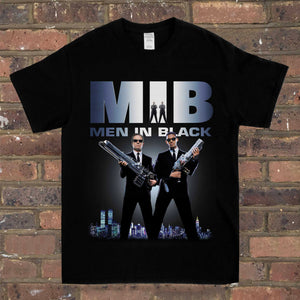 Men In Black Tee