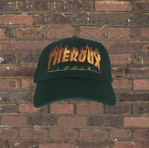 Louis Theroux Flames Cap