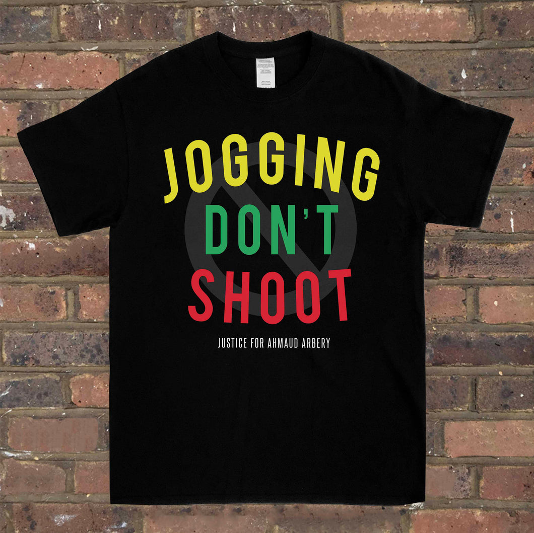 Jogging Don't Shoot Tee