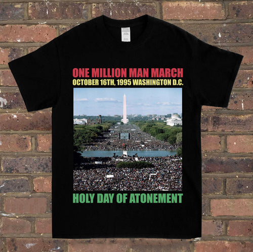 One Million Man March Atonement Tee