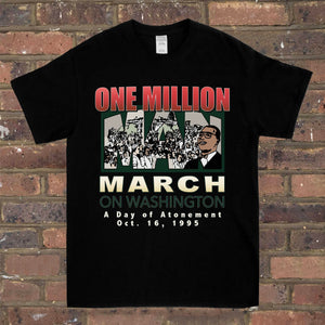 One Million Man March Tee