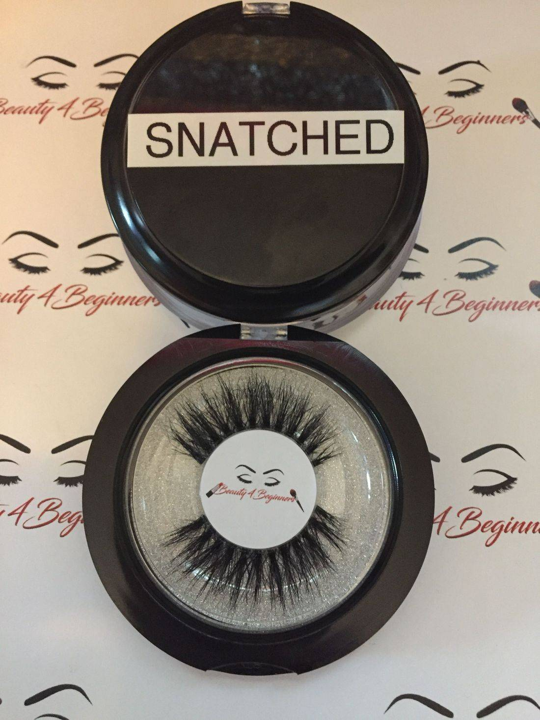 Snatched Clear Band 3D Mink Lash