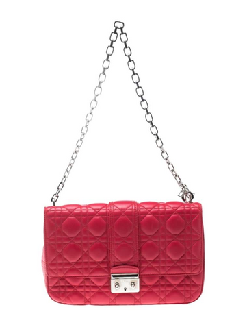 Dior Miss Dior Medium Red Cross Body Bag