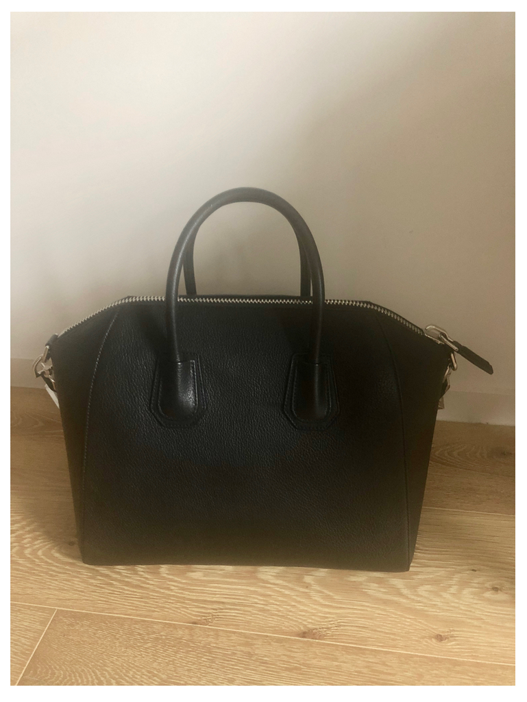 Givenchy Antigona Medium Bag - Black Leather