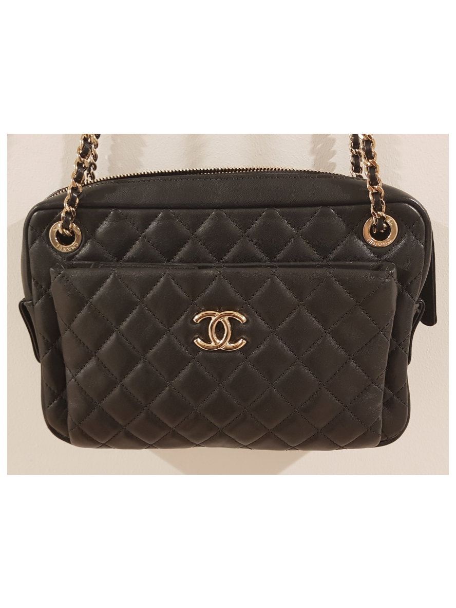 Chanel Camera Case Cross Body - Black
