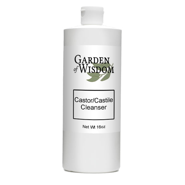 Castor Castile Cleanser With and Without Castor Oil