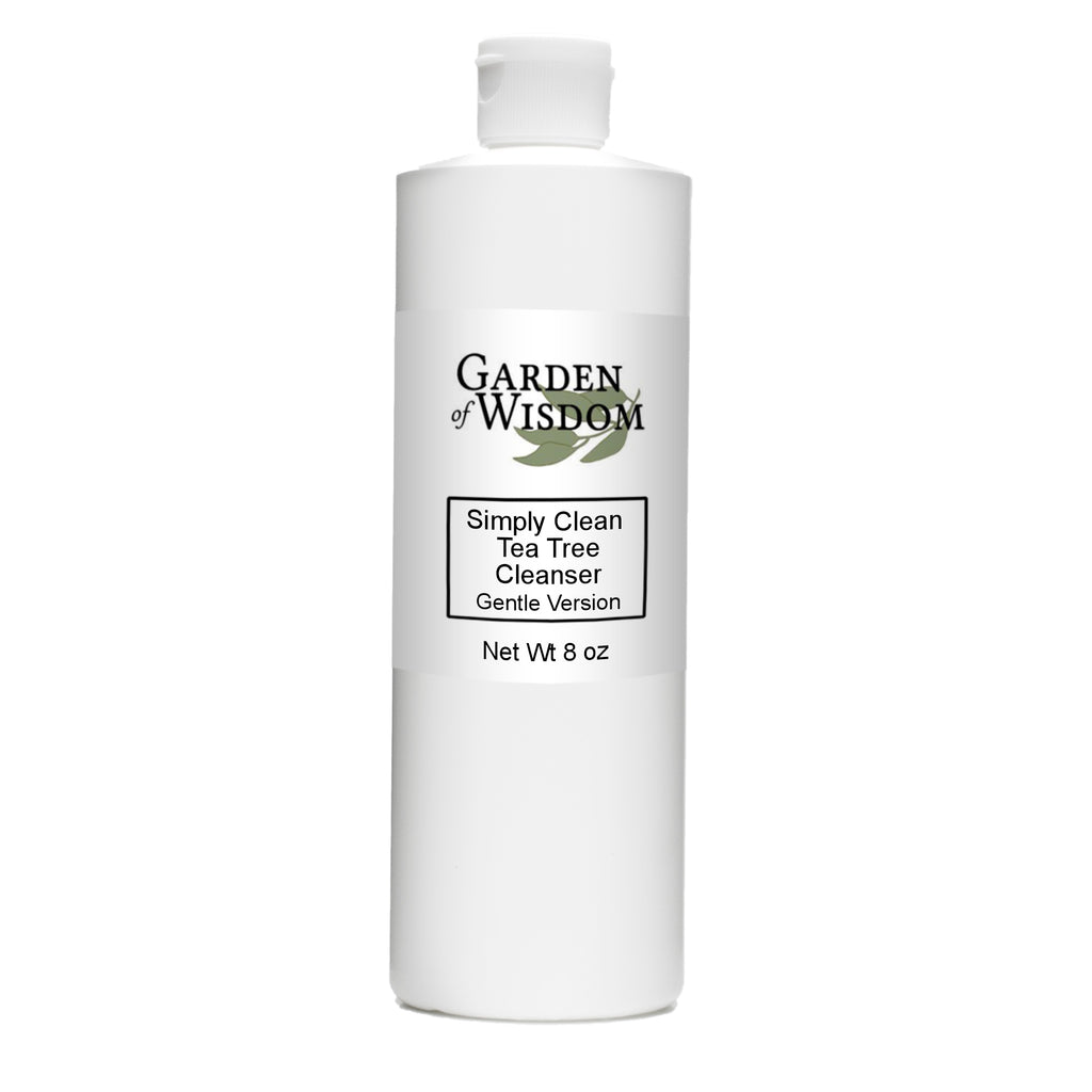 Simply Clean Tea Tree Oil Cleanser, Gentle Version