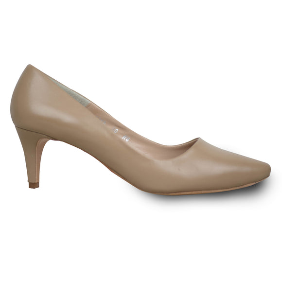 Classic Nude FYT 2.25 Inch Pump - RIGHT SHOE