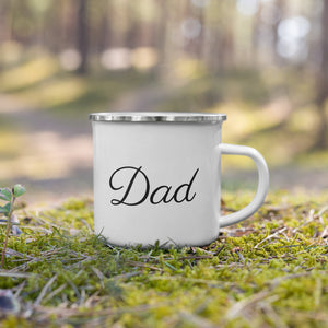Dad Enamel Mug