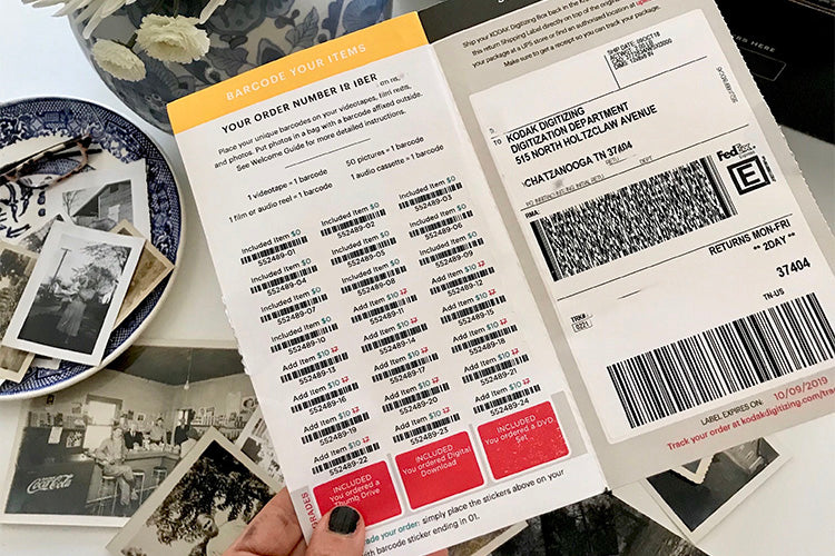 How to Barcode my Items – Kodak Digitizing