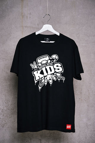 Shirt Black - Retro Kids