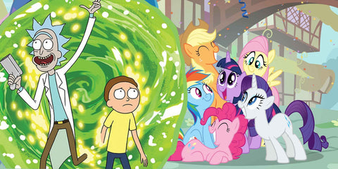 RICK and MORTY Join the PONY-VERSE