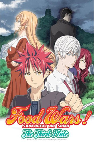 FOOD WARS! SHOKUGEKI NO SOMA: THE THIRD PLATE (SAN NO SARA) FINALE (EPISODE 23 & 24) REVIEW & SEASON 4 RELEASE DATE??