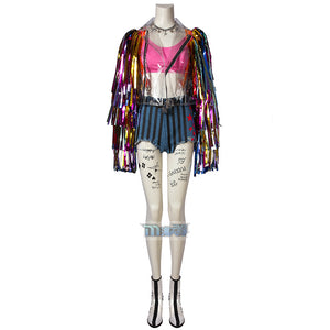 Birds Of Prey Harley Quinn Cosplay Costume (full set, excluding shoes)