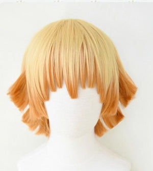 Demon Slayer Zenitsu Agatsuma Cosplay Wig