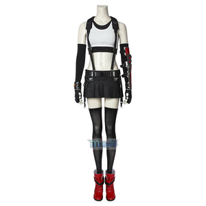 Final Fantasy 7 Remake Tifa Lockhart Cosplay Costume (Full costume excluding shoes)