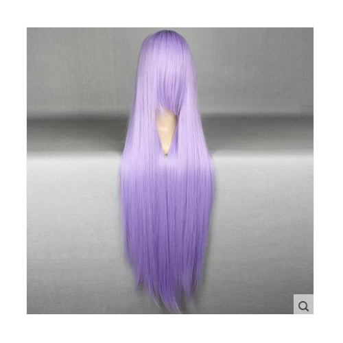 75cm Long Lilac Purple Cosplay Wig